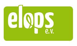 Das Logo des elops e.V.
